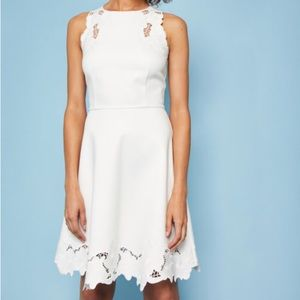 NWT TED BAKER EMBROIDERED DRESS